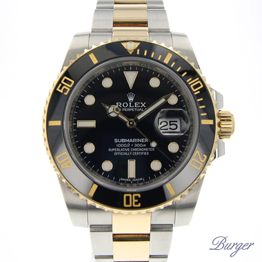 Rolex - Submariner Date Gold/Steel