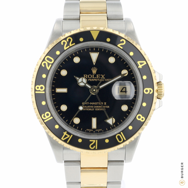 Rolex - Gmt-Master II Gold/Steel