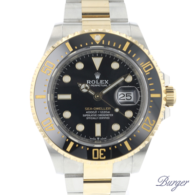 Rolex - Sea-Dweller Steel / Gold