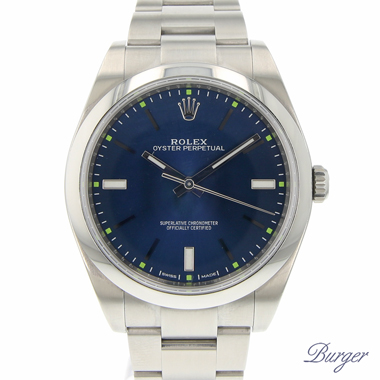 Rolex - Oyster Perpetual 39 Blue NEW!!