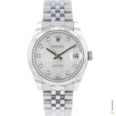 Rolex - Datejust 31 Midsize Diamond Logo Dial