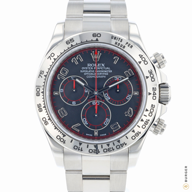 Rolex - Daytona White Gold Racing Dial