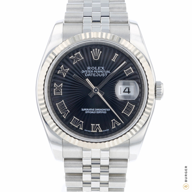 Rolex - Datejust 36 SunBeam Dial Fluted Jubilee