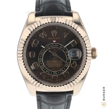 Rolex - Sky-Dweller Everosegold / Chocolate Dial