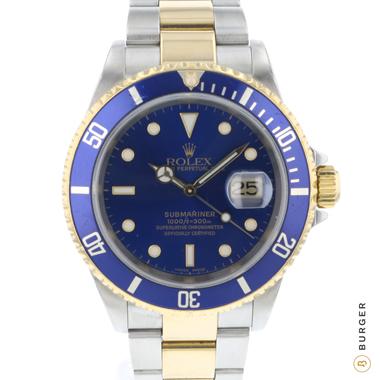 Rolex - Submariner Date Gold/Steel Blue