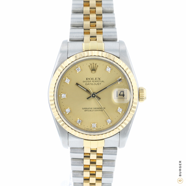 Rolex - Datejust 31 Midsize Gold/Steel Jubilee Diamond Dial