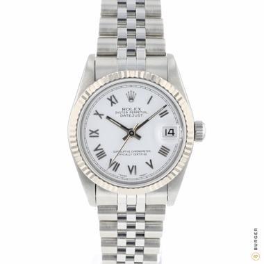 Rolex - Datejust 31 Midsize Roman Dial Jubilee Fluted
