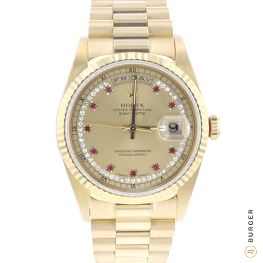 Rolex - Day-Date 36 Yellow Gold/ Diamonds