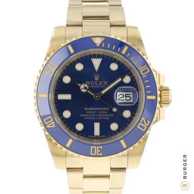 Rolex - Submariner Date Yellow Gold