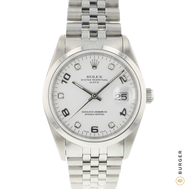 Rolex - Oyster Perpetual Date 34 Diamond dial