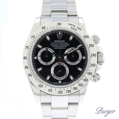 Rolex - Daytona Steel Black