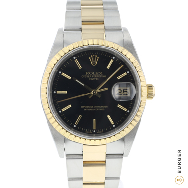 Rolex - Oyster Perpetual Date Gold/Steel