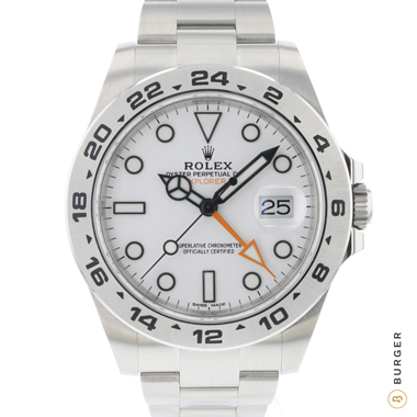 Rolex - Explorer II White BRAND NEW