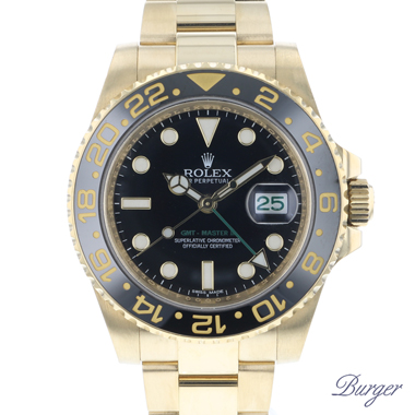 Rolex - Gmt-Master II LN 18K Yellow Gold