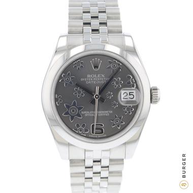 Rolex - Datejust 31 Midsize Flower Dial