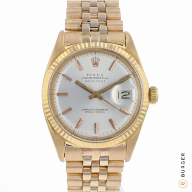 Rolex - Datejust 36 Rose Gold Fluted
