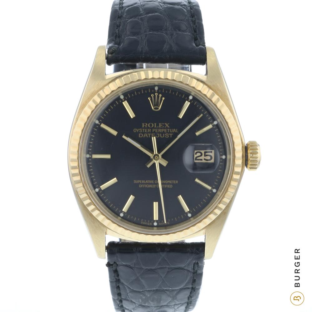 Rolex - Datejust 36 14 K Yellow Gold