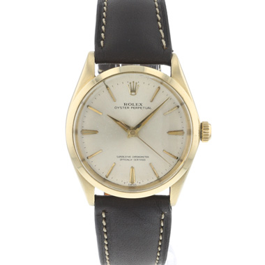 Rolex - Oyster Perpetual Yellow Gold
