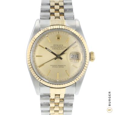 Rolex - Datejust 36 Steel/Gold Jubilee Tapestry Dial