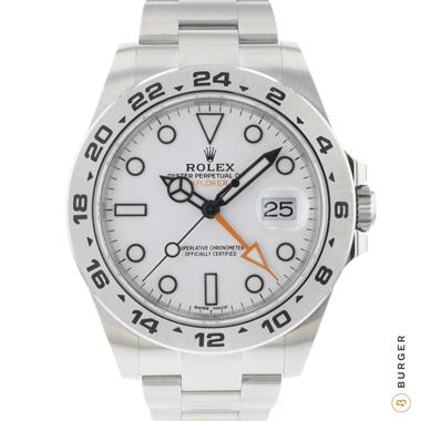 Rolex - Explorer II White NEW!