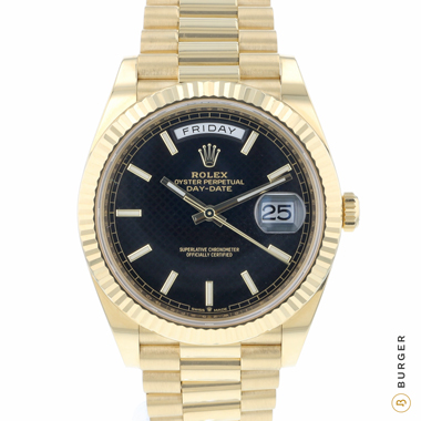Rolex - Day-Date 40 Yellow Gold 99% New 2019