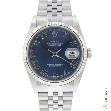 Rolex - Datejust 36 Jubilee Fluted Blue Dial