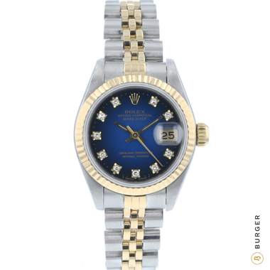Rolex - Datejust 26 Gold/Steel Diamond Vignette Dial Fluted