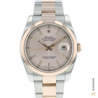 Rolex - Datejust 36 Everose Gold/Steel