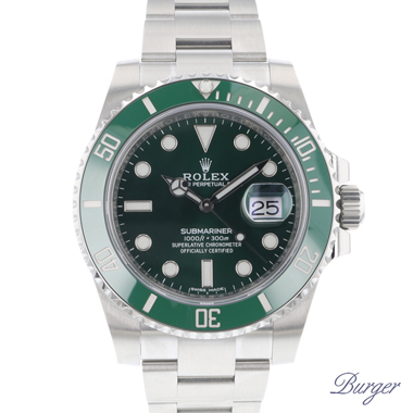 Rolex - Submariner Date Green 116610 LV Ceramic NEW !!
