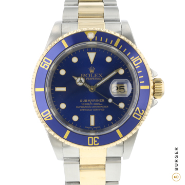 Rolex - Submariner Date Gold/Steel Blue