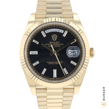 Rolex - Day-Date 40 Yellow Gold Diamonds