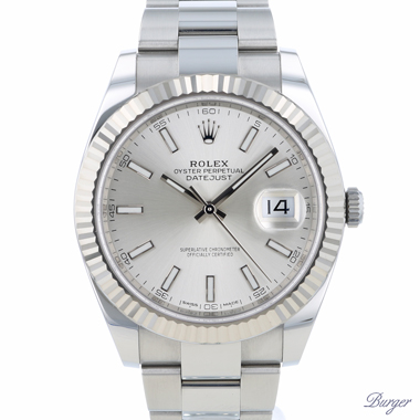 Rolex - Datejust 41 Fluted Oyster