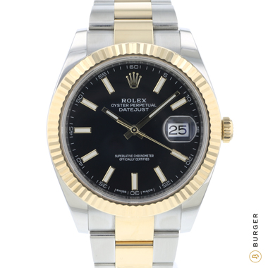 Rolex - Datejust 41 Steel / Gold / Fluted / Oyster
