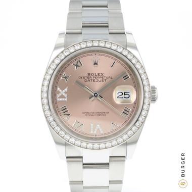 Rolex - Datejust 36 Diamonds NEW!