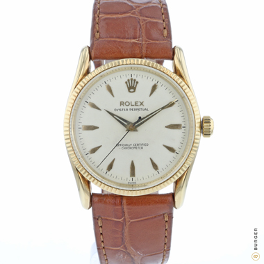 Rolex - Oyster Perpetual BomBay Yellow Gold