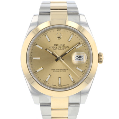 Rolex - Datejust 41 Gold / Steel