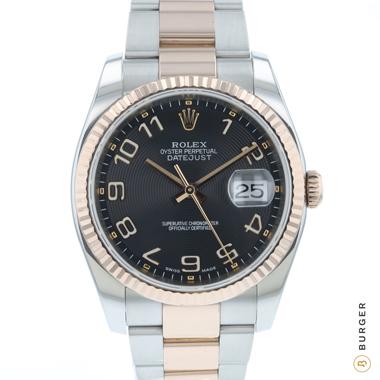 Rolex - Datejust 36 Steel / Everose Gold