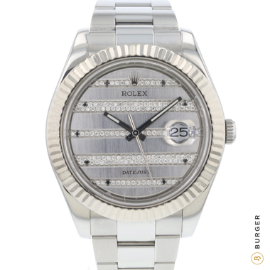 Rolex - Datejust II Fluted Diamonds