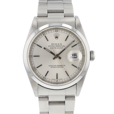 Rolex - Datejust 36 Silver Dial