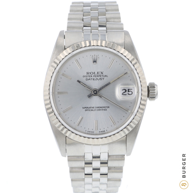 Rolex - Datejust 31 Midsize Silver Dial Jubilee Fluted