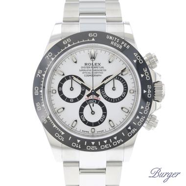 Rolex - Daytona White Ceramic 116500LN NEW