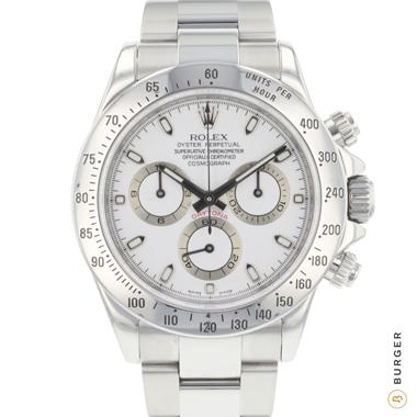 Rolex - Daytona Steel White Dial