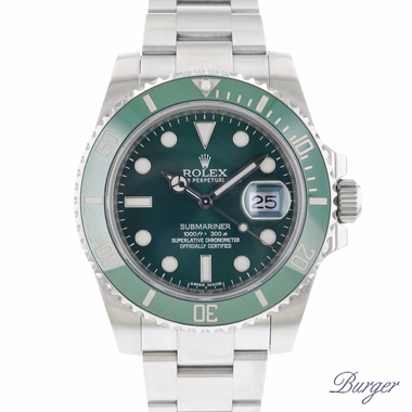 Rolex - Submariner Date Green 116610LV