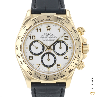 Rolex - Daytona Yellow Gold Zenith