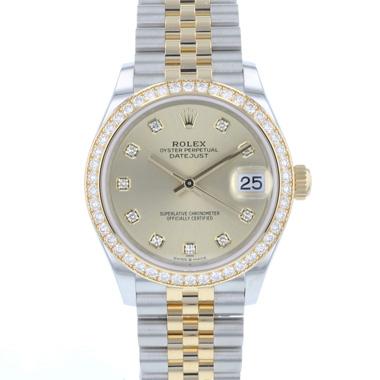 Rolex - Datejust 31 Midsize Gold/Steel Jubilee Diamonds NEW!