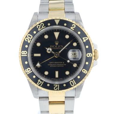 Rolex - Gmt-Master II Gold/Steel