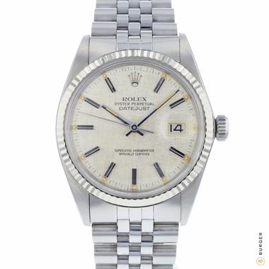 Rolex - Datejust 36 Fluted Jubilee Linen Dial