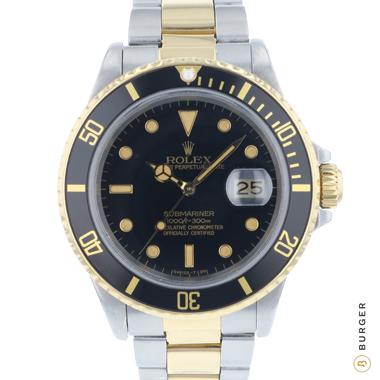 Rolex - Submariner Date Gold/steel 16803