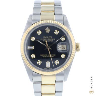Rolex - Datejust 36 Gold/Steel Diamonds