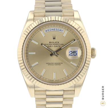 Rolex - Day-Date 40 Yellow Gold